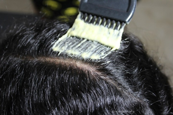mango and banana hair mask