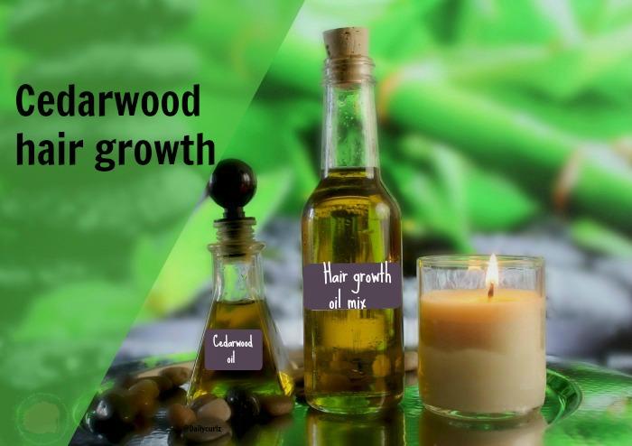 It's time for a cedarwood oil hair treatment
