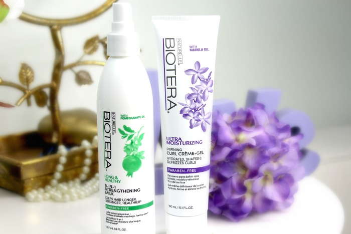 Biotera products for curly hair