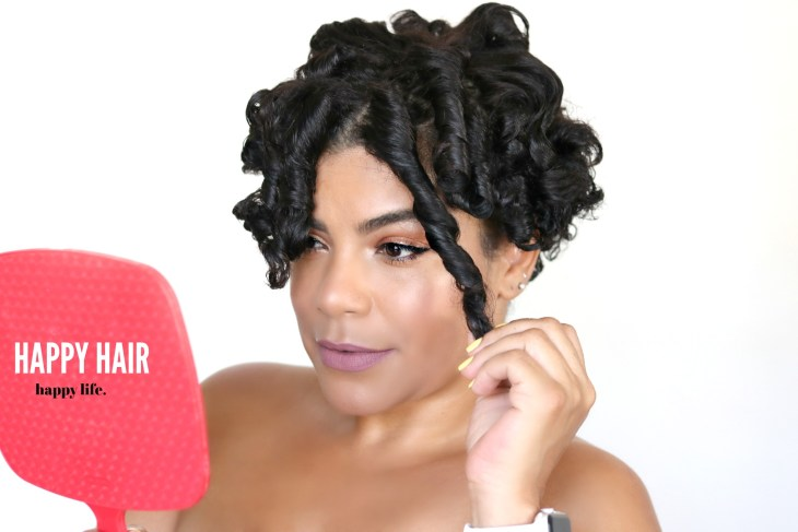 How to achieve defined curls, frizz free