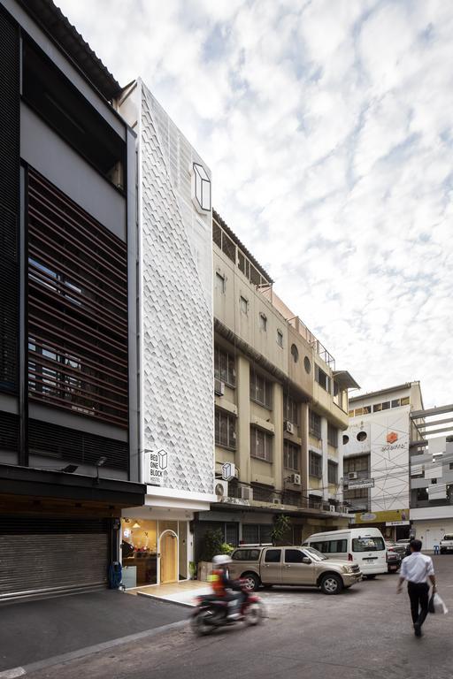 Bed One Block Hostel Design - facade
