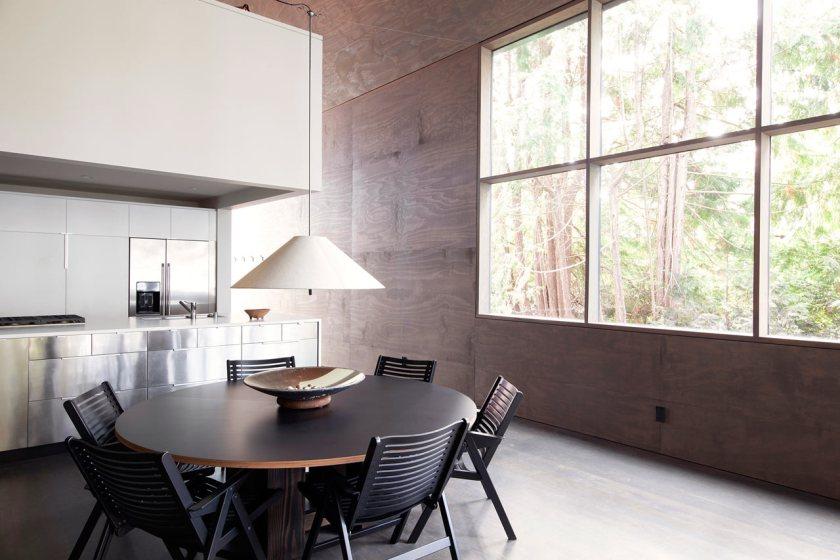 Minimalist Junsei House - Dining room