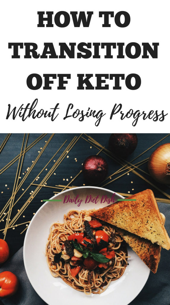 transition off keto without losing progress