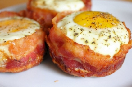 Top Recipes - Bacon and Egg Muffin Cups