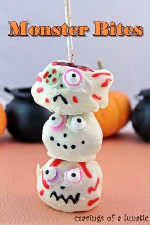 Halloween Recipes: Monster Bites