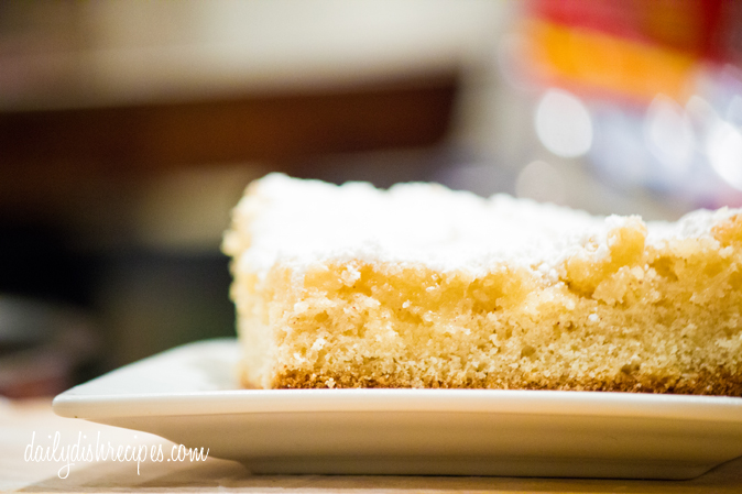 Eggnog Gooey Butter Cake Recipe from A TASTE OF HOME: ST. LOUIS FAVORITES #WUHomeCooked #Paid