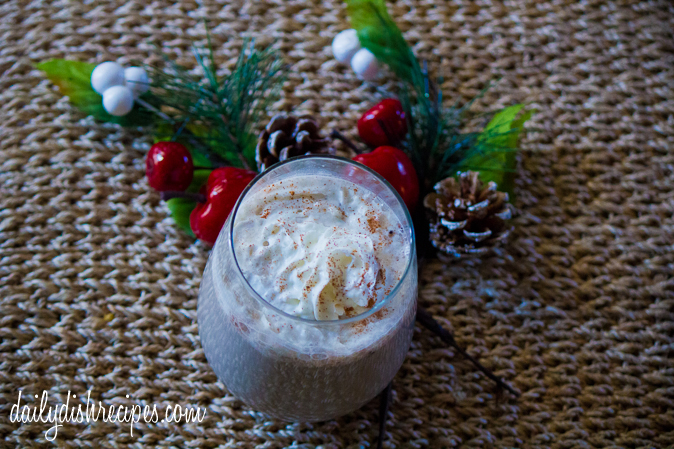Chocolate Peppermint Eggnog