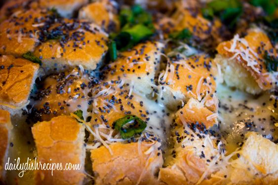 Cheesy Garlic Pull Apart Bread