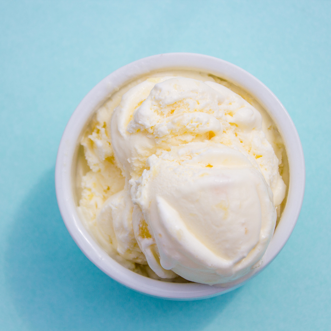 Creamy Coconut Pineapple Ice Cream Recipe