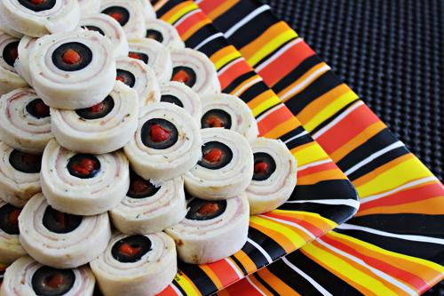 Eyeball Pinwheels Halloween