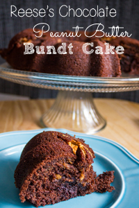 reeses-chocolate-peanut-butter-bundt-cake