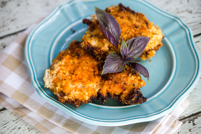 Kicked-Up Spicy Breaded Chicken with Panko