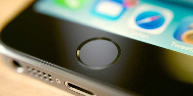 Resultado de imagem para fingerprint iphone