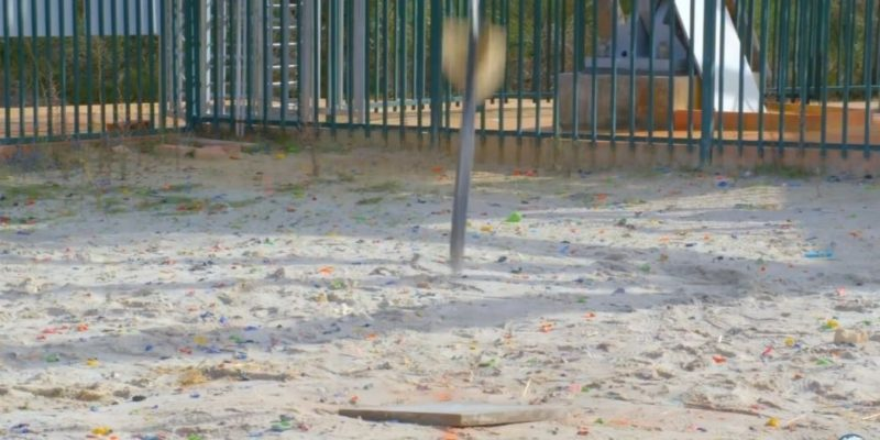 How Ridiculous giant dart vs. concrete