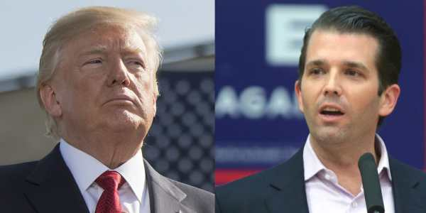 Trump Jr. Blasts Anonymous Op-Ed, Says His Father's Trust ...