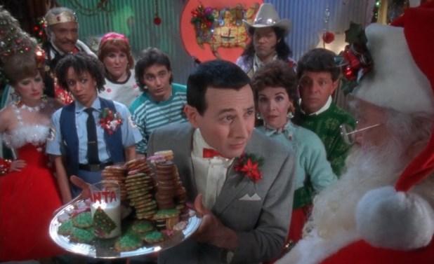 Christmas movies theater play peewees