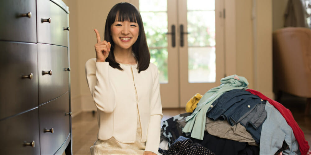 Men Are Blaming Marie Kondo For Having To Actually Tidy Up