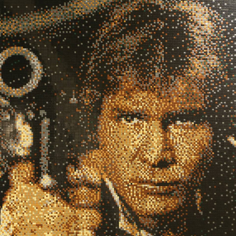 Bricktacular mosaics from Reddit s favorite Lego artist   The Daily Dot The mosaic process begins in Excel  where he will convert a popular image  into pixels  Next  he will go through his vast assortment of thousands of  Lego