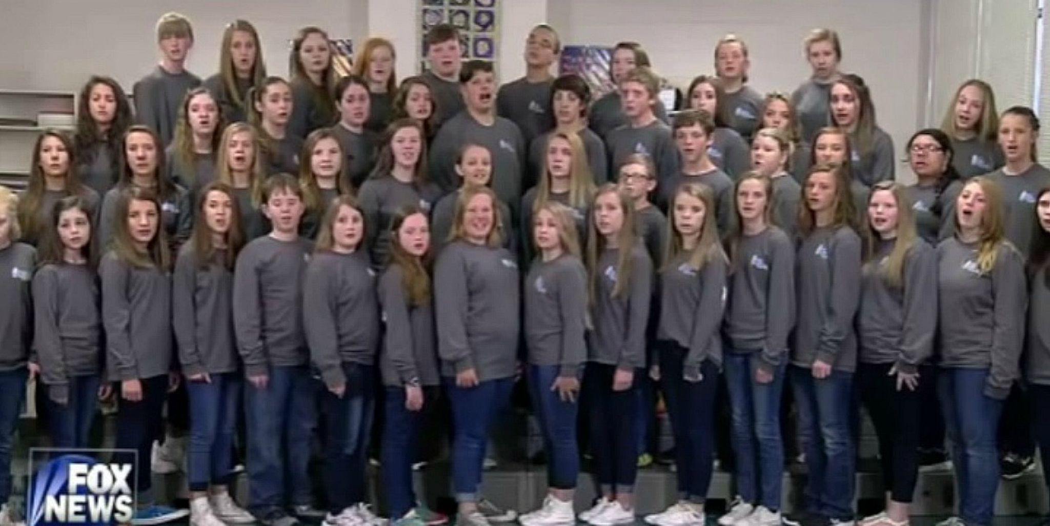 Middle School Choir Told To Stop Singing National Anthem