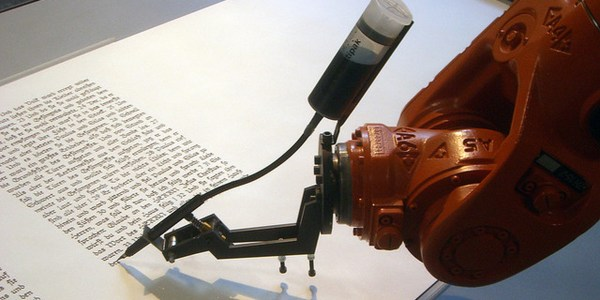 Robots with fancy handwriting will write your thank-you ...