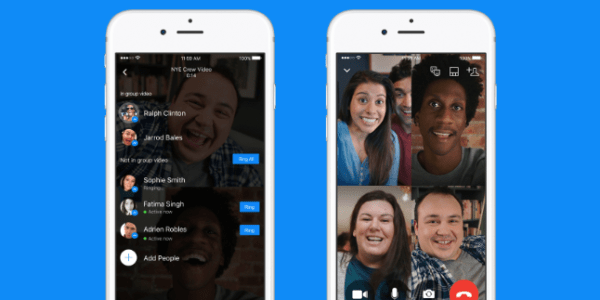 Funciones de Messenger: chat de video grupal en Messenger