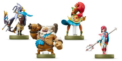 Slay Ganon with these 'Breath of the Wild' Zelda Champions Amiibo