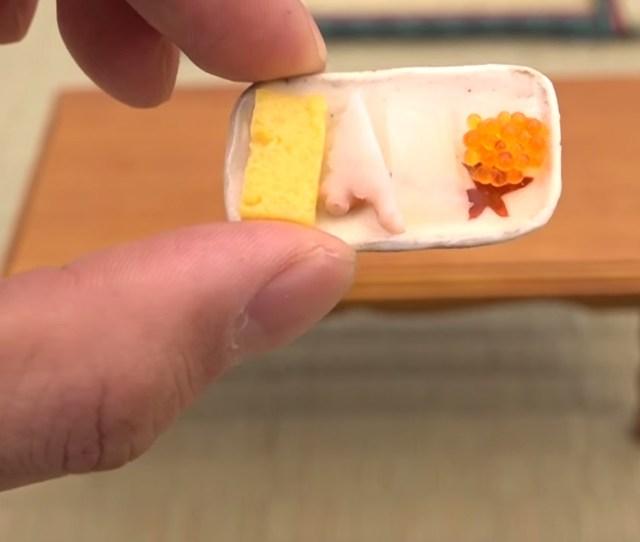 Tiny Tray Of Food