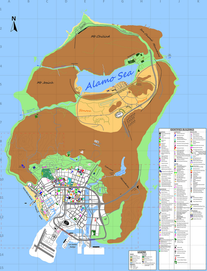 Fans Predicted The Grand Theft Auto V Map Weeks Before It Leaked The Daily Dot