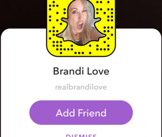 Snapchat Pornstars Brandi Love