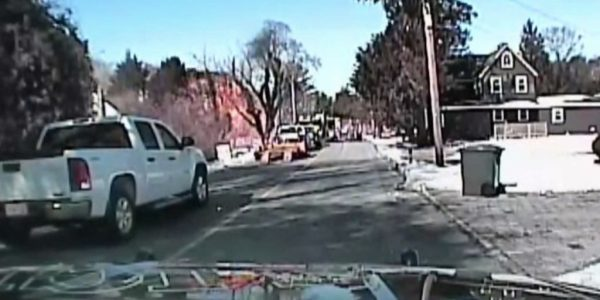 Dashcam footage captures terrifying gas-main explosion ...