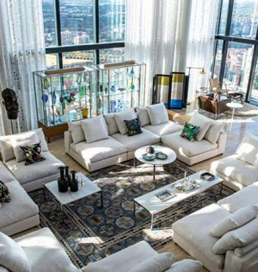 Open Space Modern Penthouse