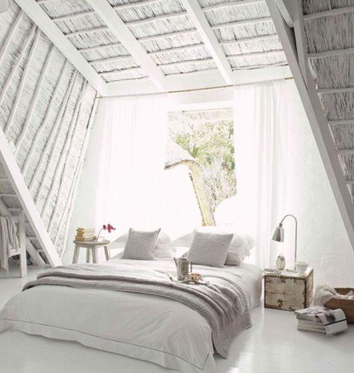 Attic Bed a dreamy attic bedroom makeover - daily dream decor