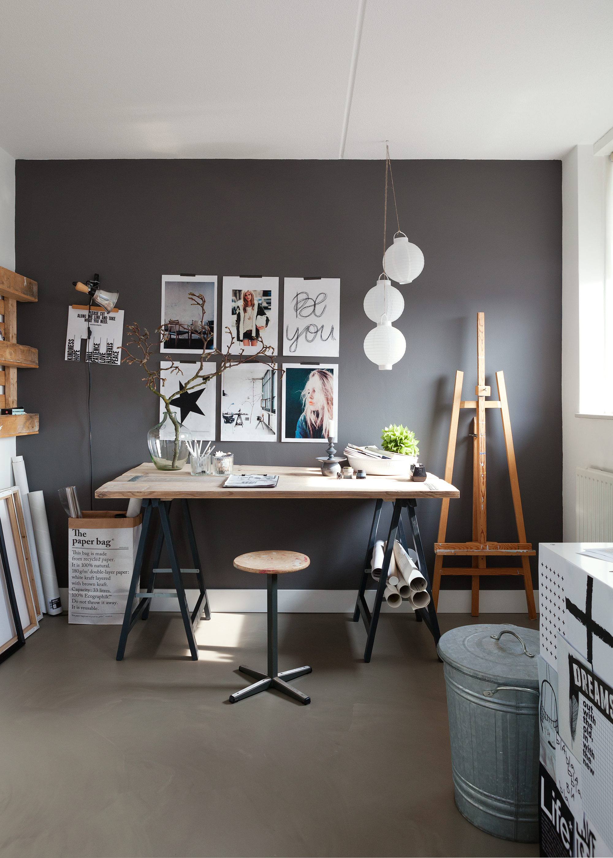 Chic and modern scheme · 4. Peaceful home office - Daily Dream Decor