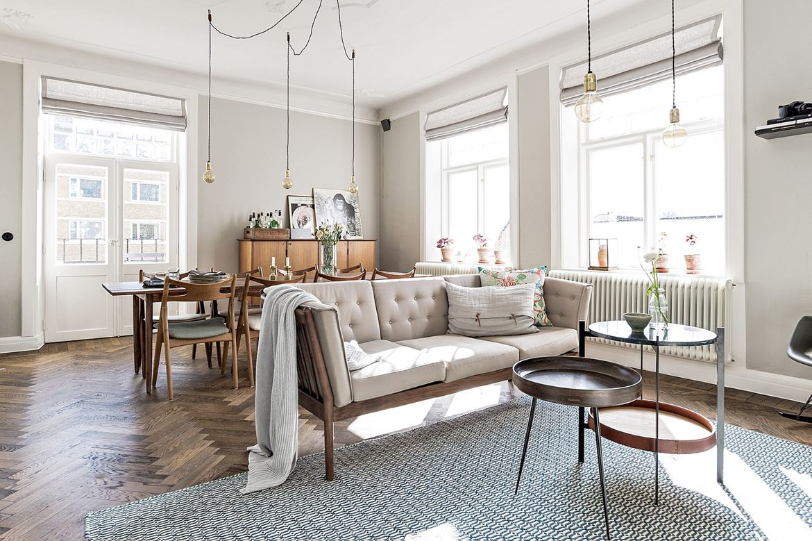 A Dreamy Scandinavian Apartment With Retro Vibes Daily