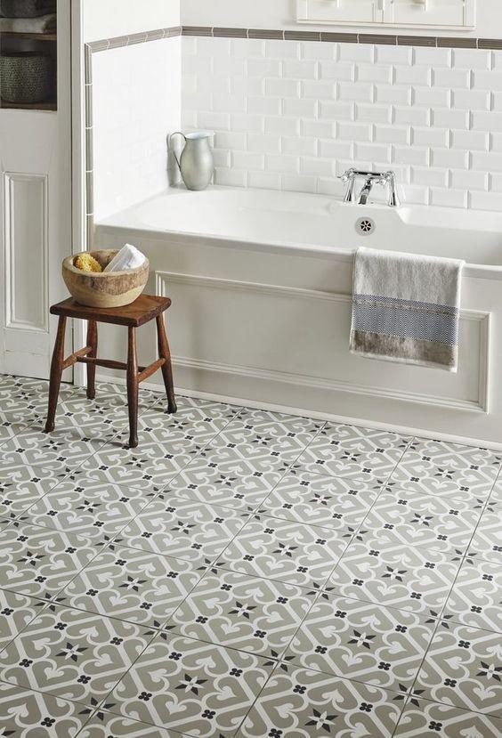 5 Easy Small Bathroom Designs - Daily Dream Decor on Bathroom Tile Pattern Design  id=58159
