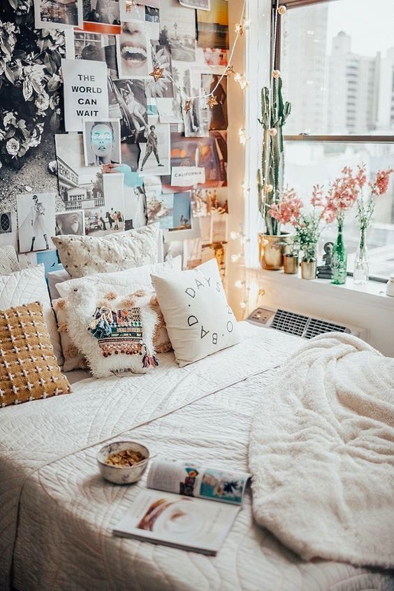 9 Cozy bedrooms that will help you face the winter in a ... on Cozy Teenage Room Decor  id=37150