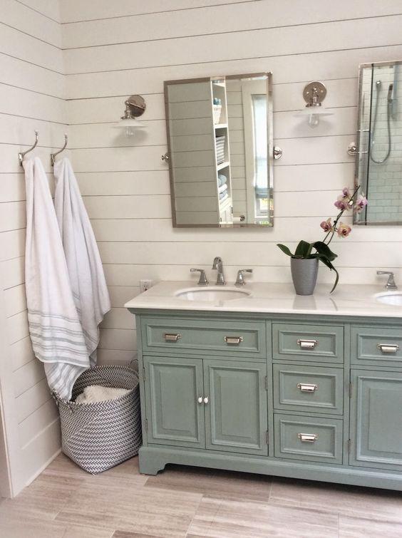 10 Farmhouse inspired bathrooms you will dream about ... on Farmhouse Bathroom  id=48342
