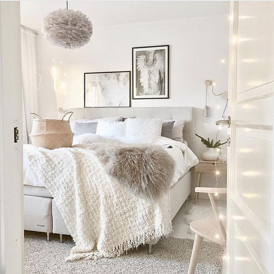 9 Cozy bedrooms that will help you face the winter in a ... on Cozy Teenage Room Decor  id=24213