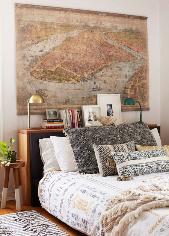 6 Boho bedrooms that will make you daydream - Daily Dream ... on Boho Bedroom  id=82212