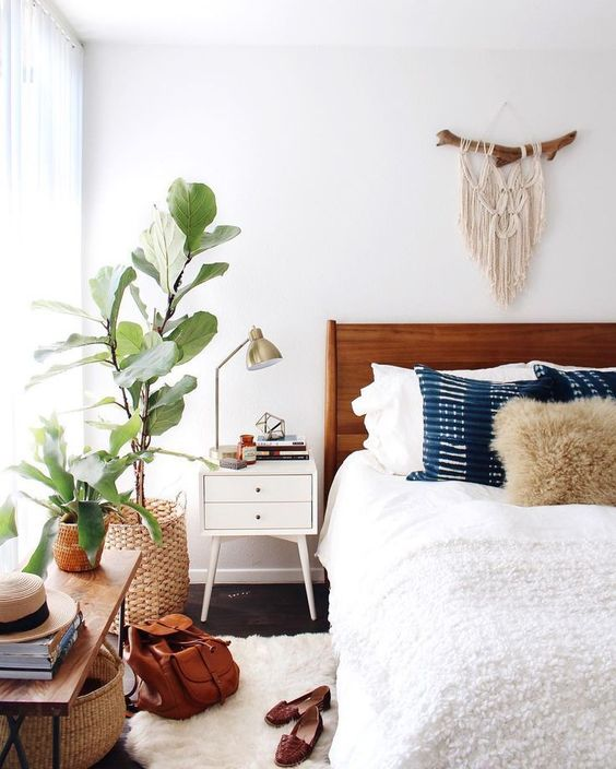 6 Boho bedrooms that will make you daydream - Daily Dream ... on Modern Bohemian Bedroom Decor  id=41017