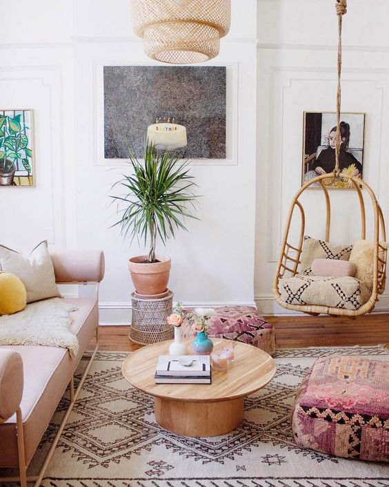 6 Boho living room spaces that will wow you this fall ... on Boho Room Decor  id=58071