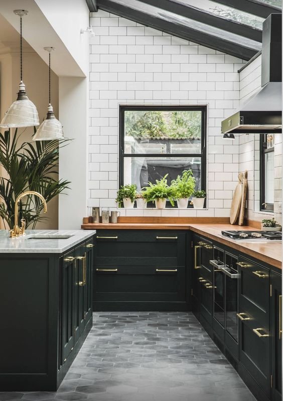 9 Gorgeous ideas for a bohemian kitchen space - Daily ... on Kitchen Counter Decor Modern  id=20022