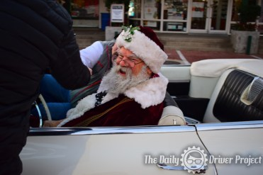 Santa at Wheels & Waves