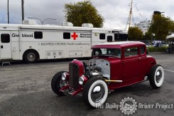 The Blood Drive Car Show