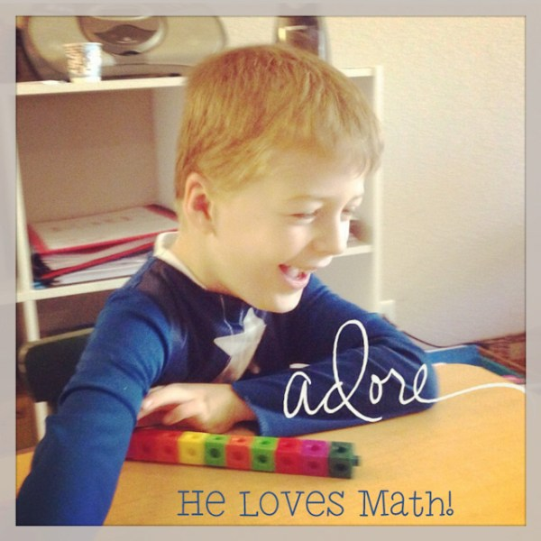 Last Day of Homeschool Math