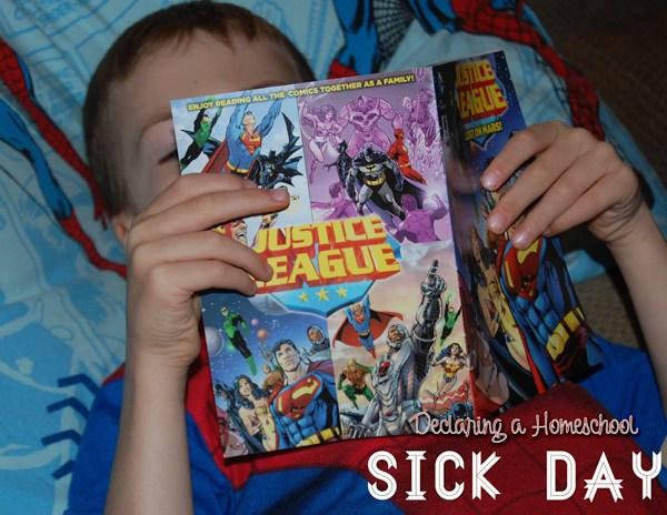 Declaring a Homeschool Sick Day