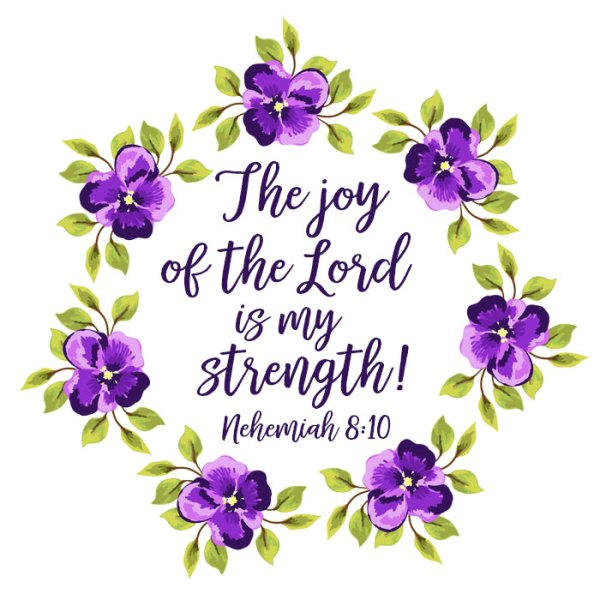 Scripture Sunday: The Joy of the Lord