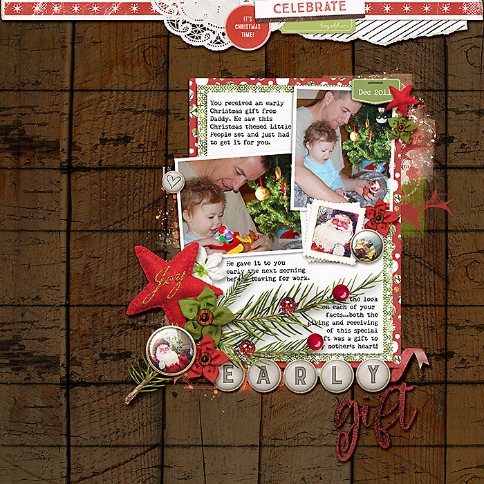 Page Credits: Star of Wonder Dressed Down - Fiddle Dee Designs Starry Woods - Lynn Grieveson
