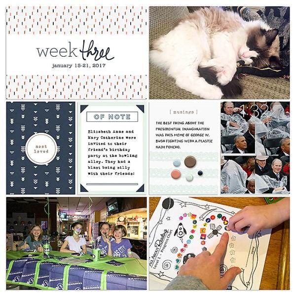 Digital Project Life 2017 | Week 3