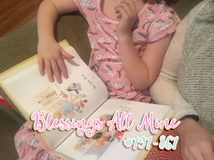 Blessings All Mine #797-867